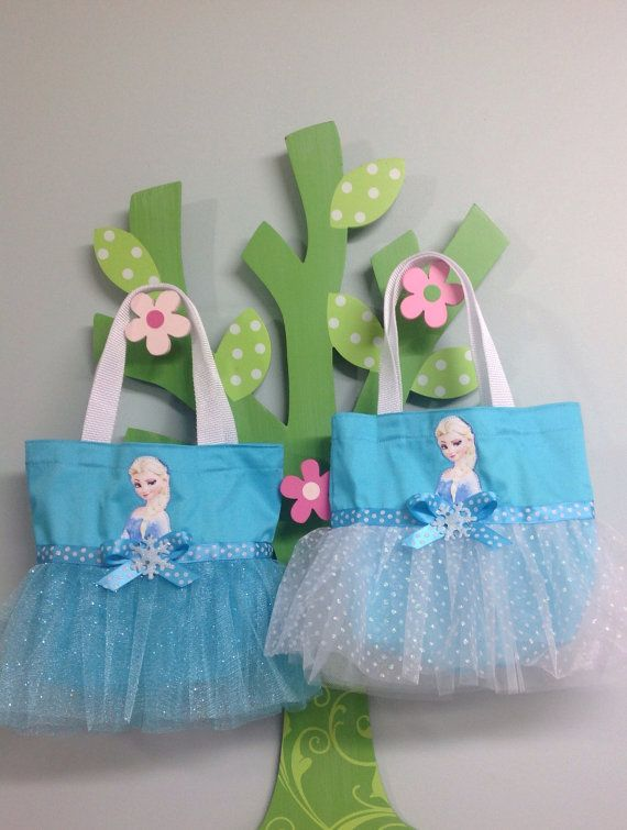 Princess Elsa from Frozen Tutu Tote Bag by LollipopLaneBoutique, $18.00