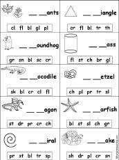 25+ best ideas about Consonant blends on Pinterest | Phonics games ...