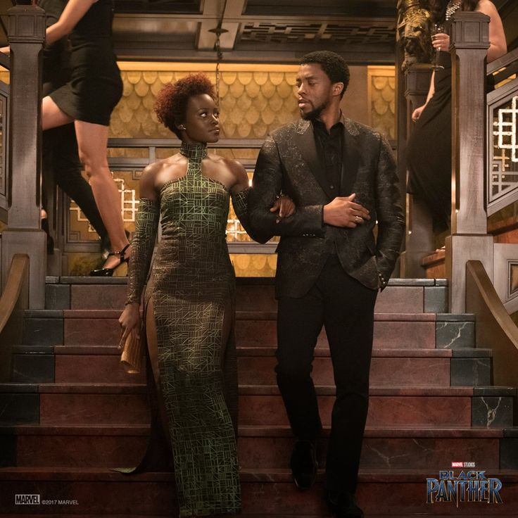 T'Challa & Nakia Steps In Style in Newly Released Black Panther Images – matiuadex movies