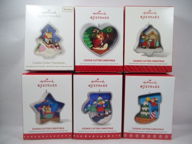 Hallmark Cookie Cutter Christmas 2012 2013 2014 2015 2016 2017