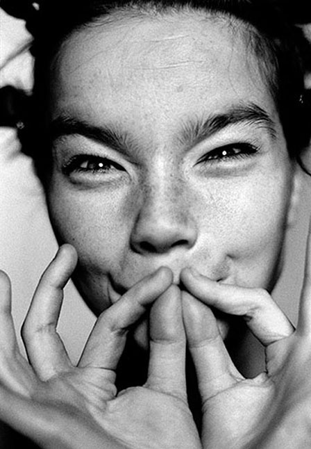 Björk - Actress. Singer. Song-writer. Visionary. Unique Conceptual Brain. Iceland is made of Björk. Thank Odin for this. Ja