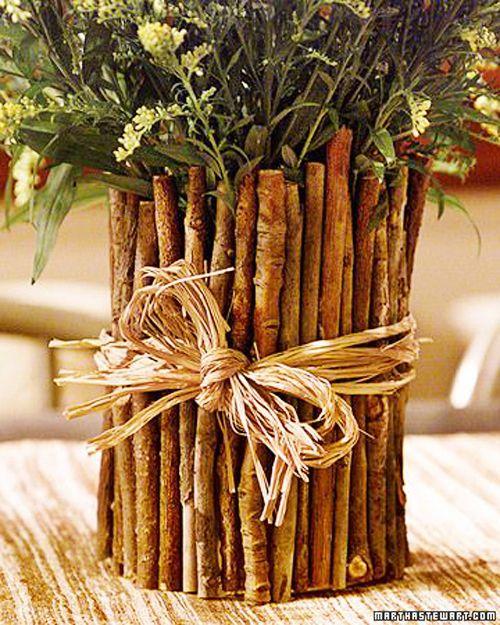 Decoração-com-ramos-galhos-e-madeira-vaso