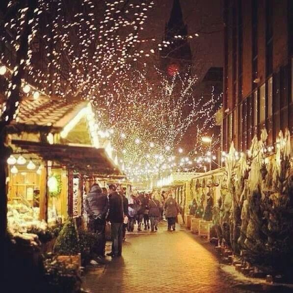Manchester has the best Christmas market in the world. If it snows while you are walking around the bijou stalls sipping your Glühwein and munching on a Bockwurst it really is magical. I look forward to the four weeks or so of the Christmas market all year. Manchester,  England