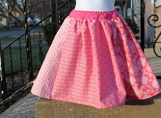 sew easy being green: Twirl Skirt Tutorial and a Cheat (shhhh!)