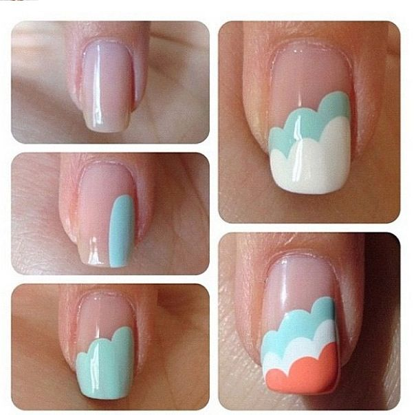 have this on my nails right now! took so much time, and a steady hand, but it looks great when you finish!