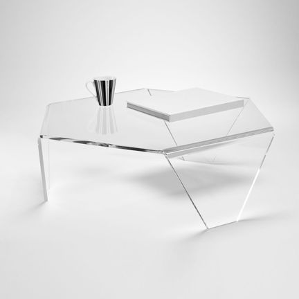 Tri Leg Acrylic Table