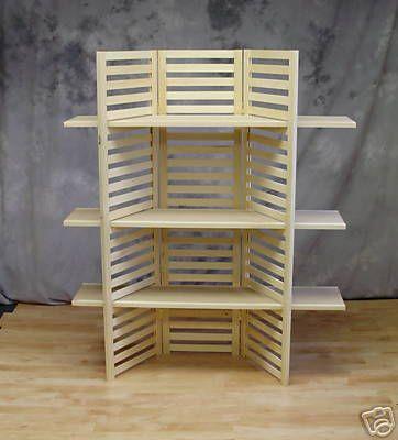 Display Shelf Portable With 3 Shelves   eBay