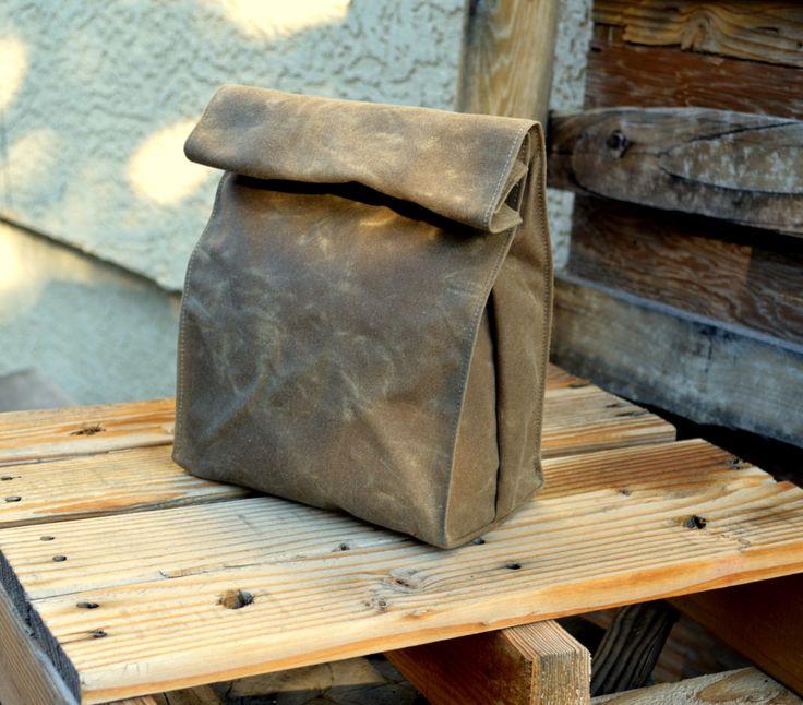 Tela cerata pranzo Tote cerato Canvas Bag Lunch di Zakken su Etsy https://www.etsy.com/it/listing/201917076/tela-cerata-pranzo-tote-cerato-canvas