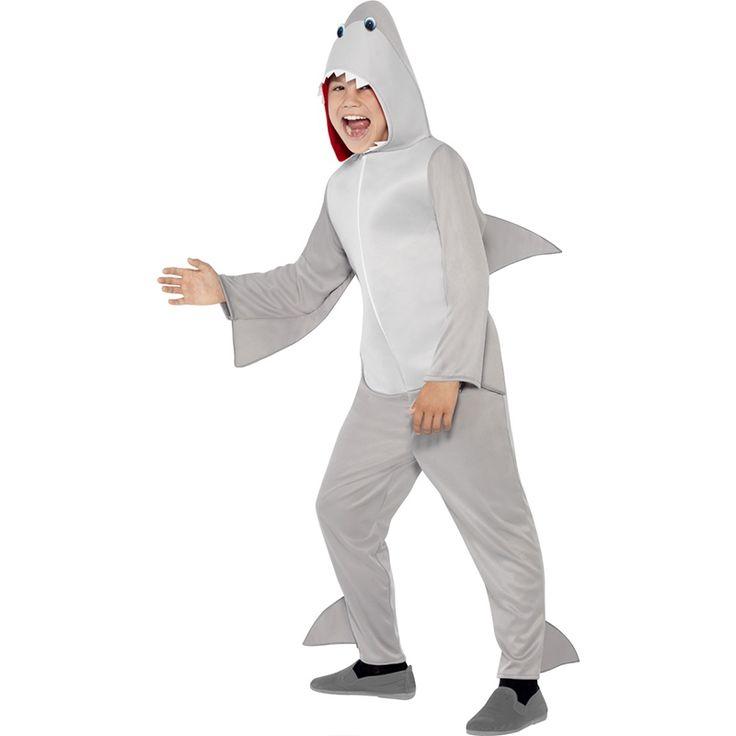 Haai jumpsuit kostuum kind