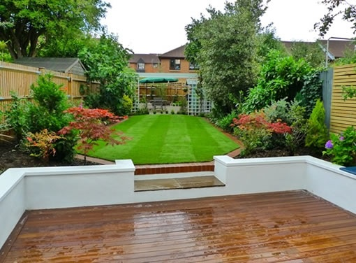 Landscaped garden in Romford, Essex