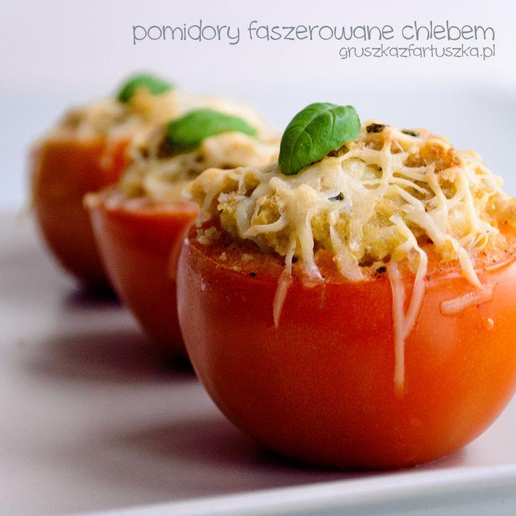 Przepis na pomidory faszerowane chlebem