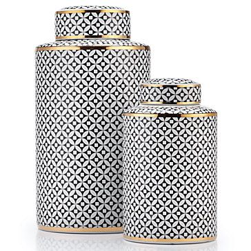 Emilia Canister   Canisters   Decorative Accessories   Home Accents   Decor   Z Gallerie