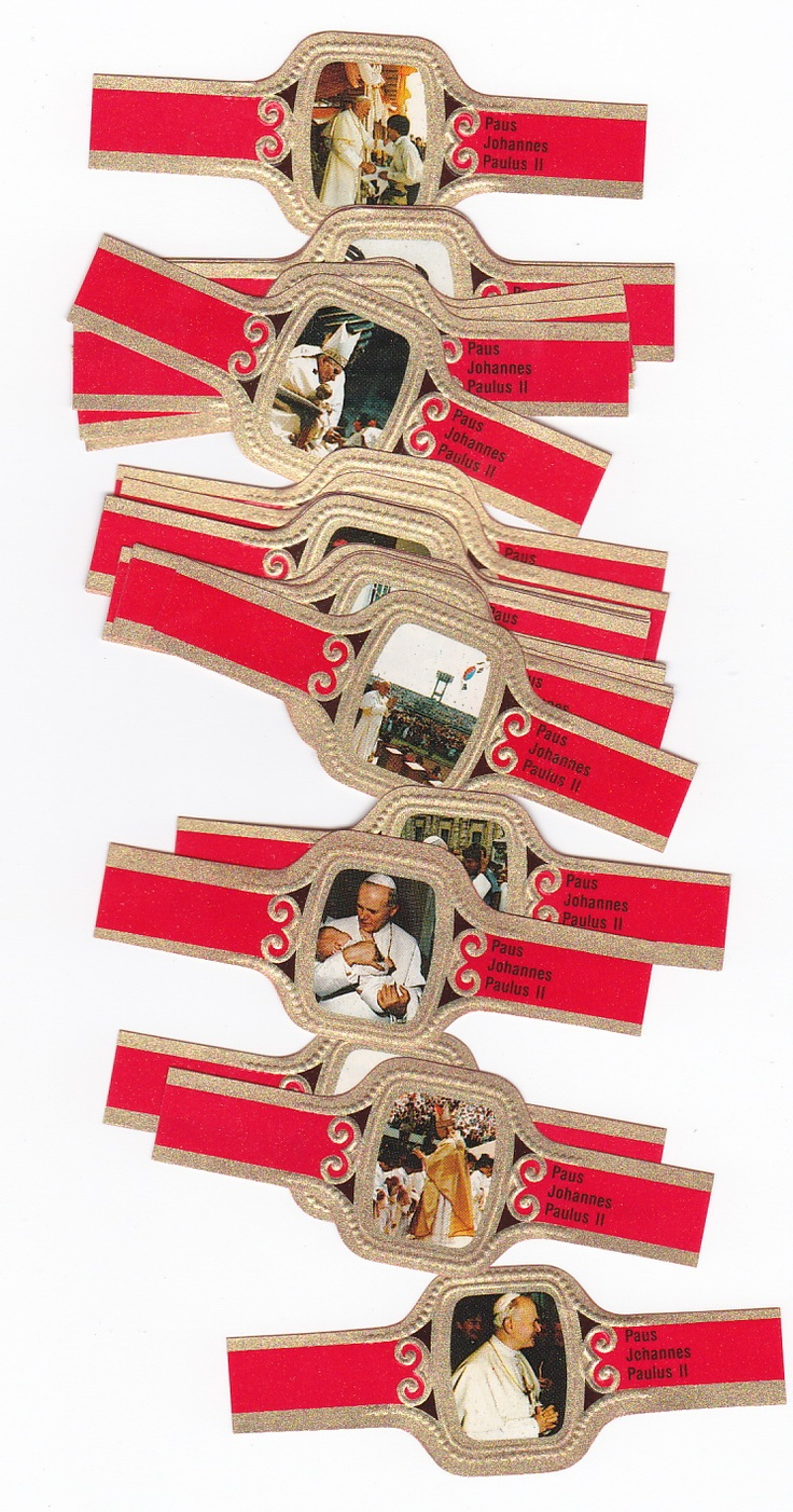 24 cigar bands with pope john paul ii from bogaert biblical art 24 cigar bands with pope john paul ii from bogaert biblical art pinterest biblical art buycottarizona Choice Image