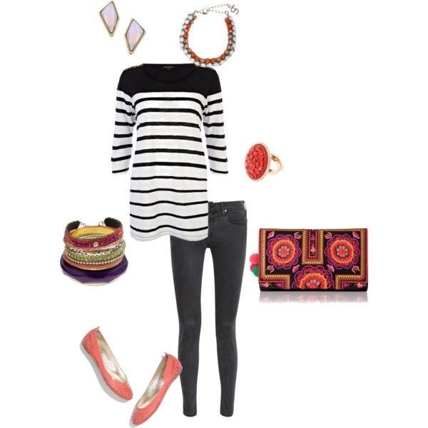 """""""Indie Striped"""" by rosemary-dewar on Polyvore"""