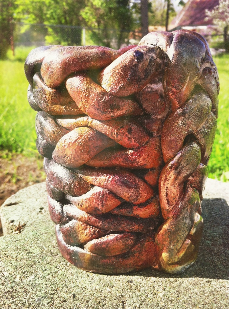 I Thought This Was A Very Cool Coil Pot Because It Uses An