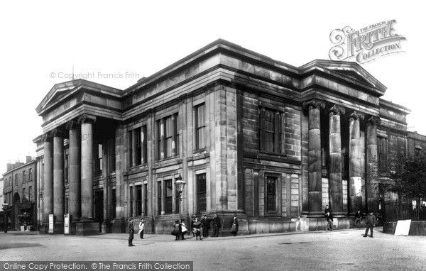 Macclesfield, Town Hall 1897, from Francis Frith