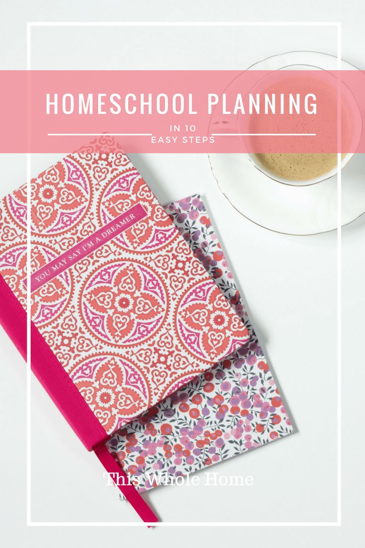 Homeschool Planning in 10 Steps