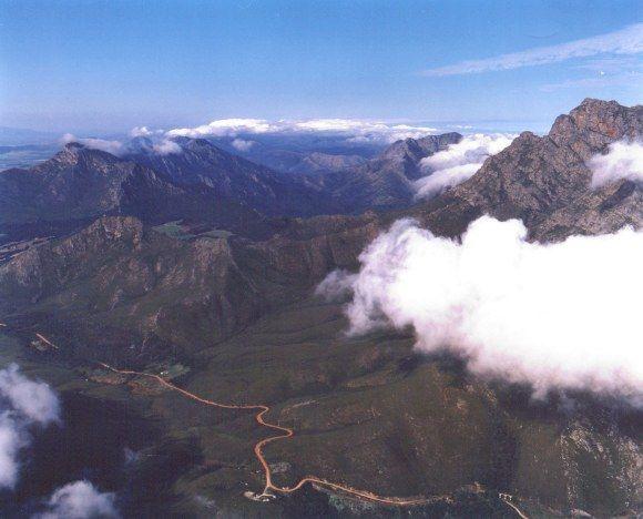 The ever beautiful Outeniqua Pass scenery