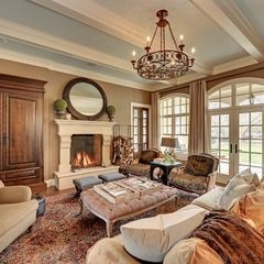 Traditional Living Room By Spacecrafting Architectural Photography