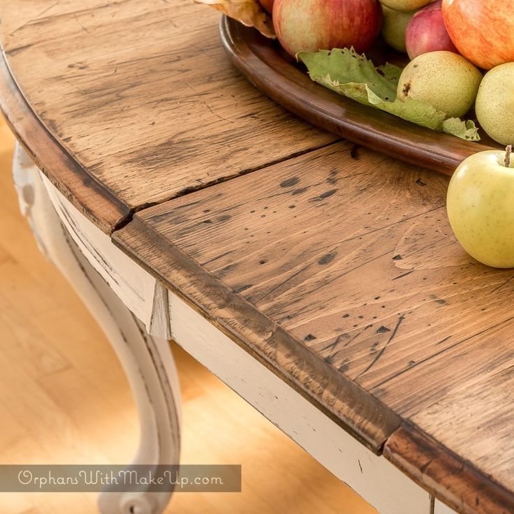 RUSTIC FRENCH ELEGANCE-DINING TABLE TRANSFORMATION