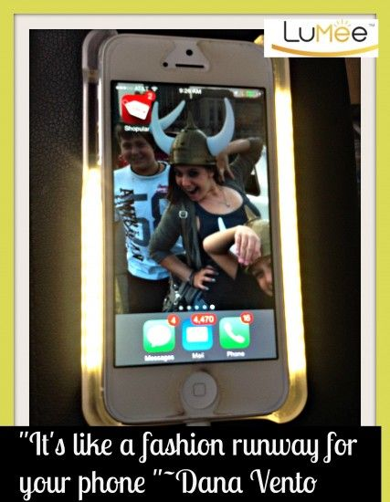"selfie, images, photos, ""It's like a fashion runway for your phone "". tech, fashion, accessories, lighting, dana vento"