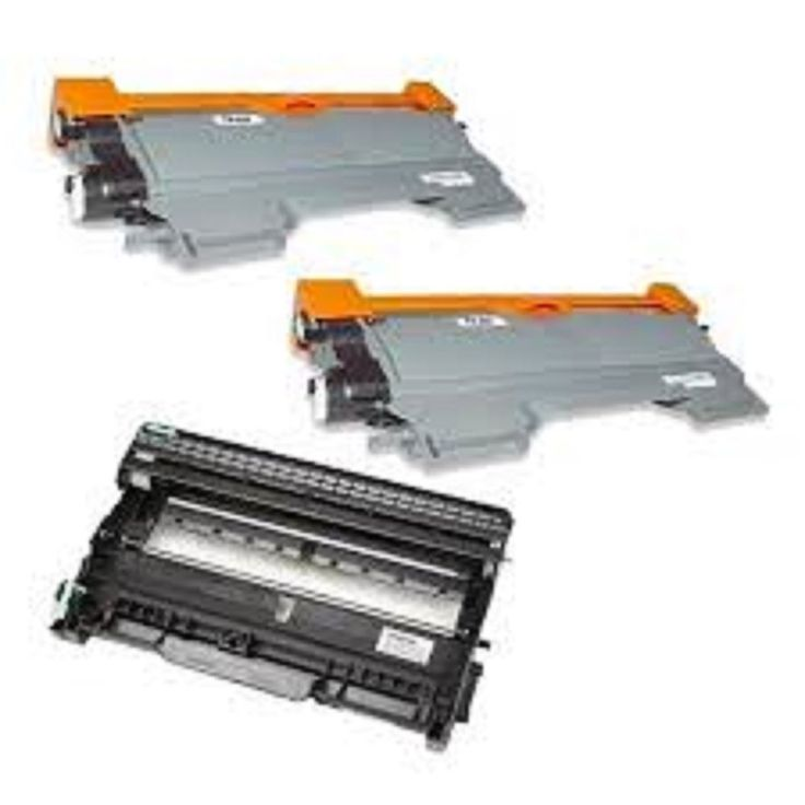 2 Brother Toner Tn450 Black Cartridges 1 Brother Drum Dr420 Unit