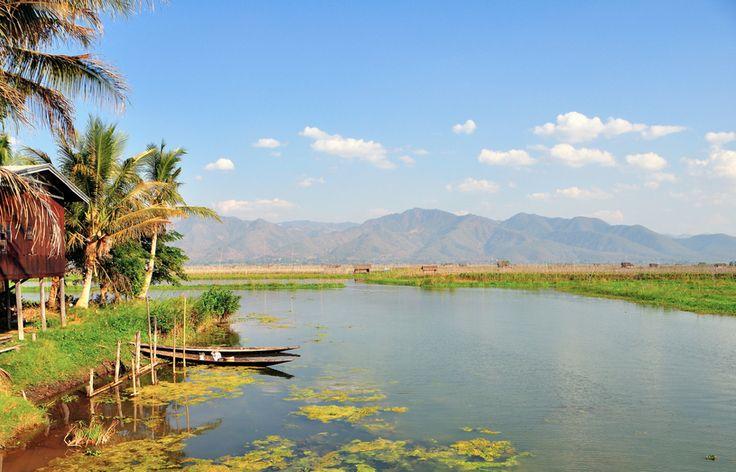 Inle Lake, Nyaungshwe Township of Taunggyi District of Shan State, Myanmar (Burma)