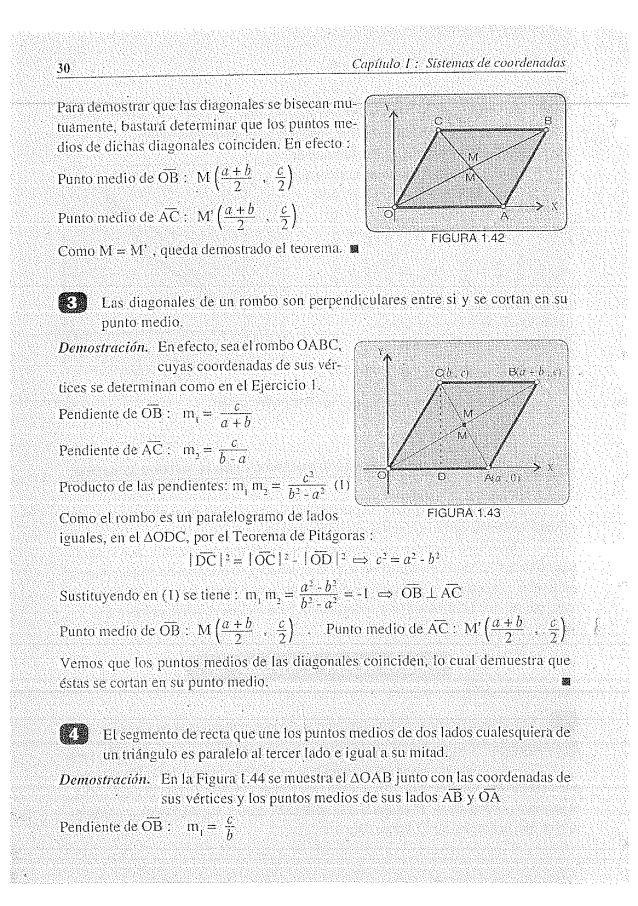 Solucionario Geometria Analitica Lehman Math Books Math Books