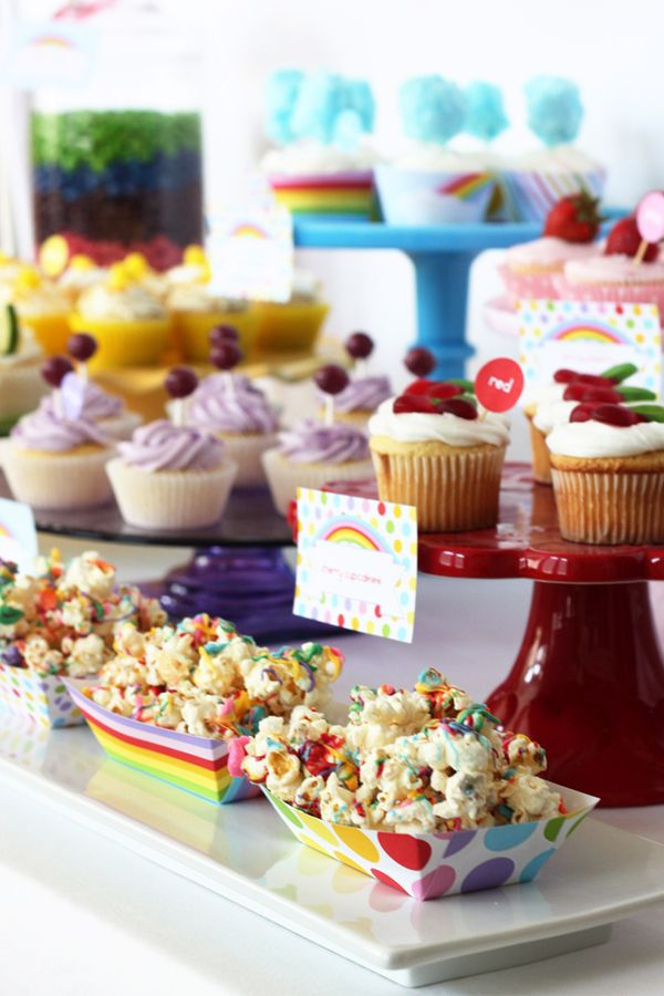 Wants and Wishes: Party planning: Taste the Rainbow birthday party