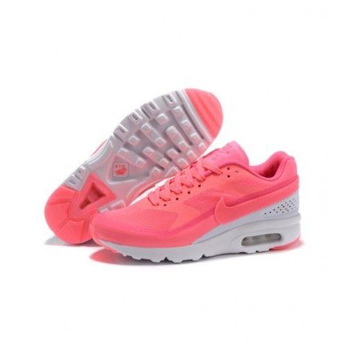 Nike Mulheres - Novo Nike Air Max 91 Mulheres Tenis De Corrida Rosa Branco 0834