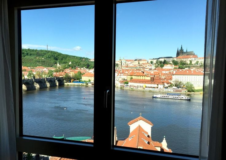 Room with a view at Four Seasons Hotel Prague is a must when staying in beautiful Prague!