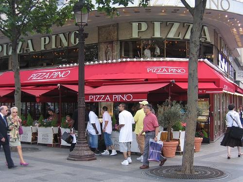 Pizza Pino,31-33 avenue des Champs Elysées