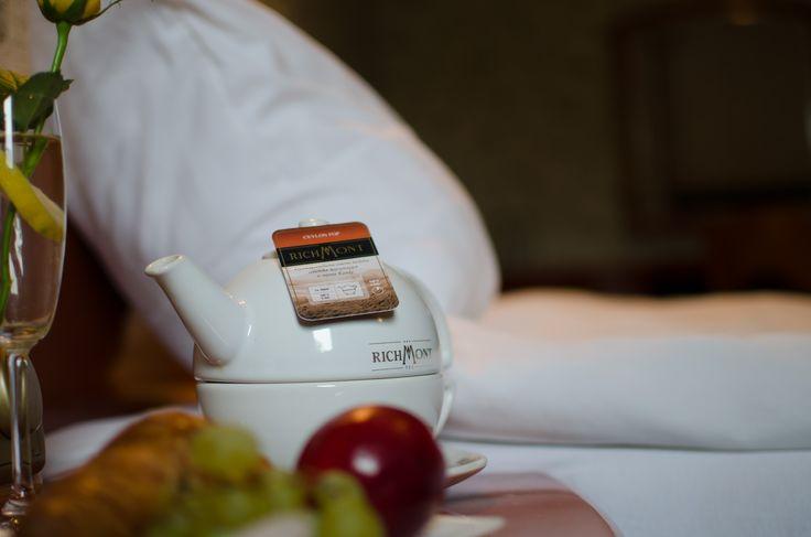 Podajemy śniadanie do łóżka :) Goście mogą również zjeść śniadanie w naszej restauracji.