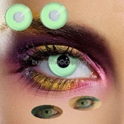 80054 lentille de couleur VERTE lens green contact us