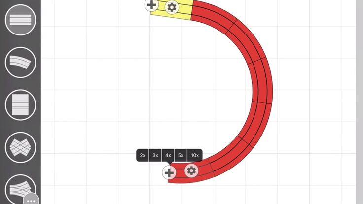 Creating a LEGO Duplo train plan on the iPad