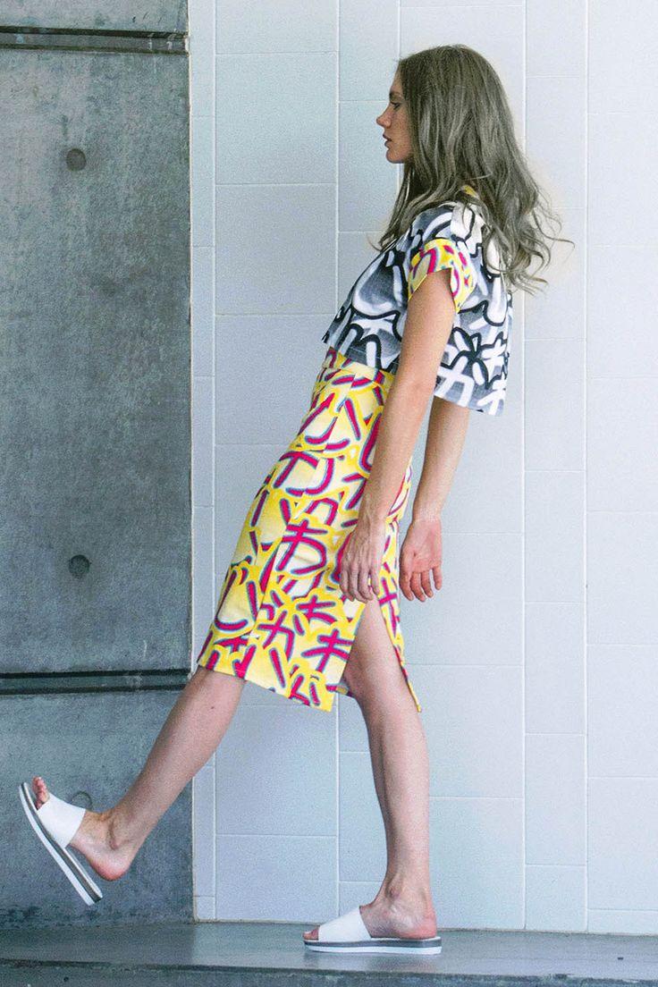 Shadow Galactica Skirt