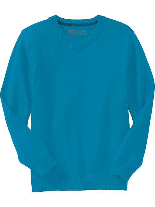 V-Neck Sweaters Boys, 100% organic cotton
