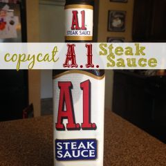 Copycat A1 Steak Sauce Recipe