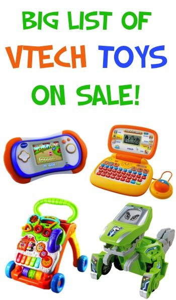 BIG List of VTech Toys Sale: Buy One, Get One 50% off!
