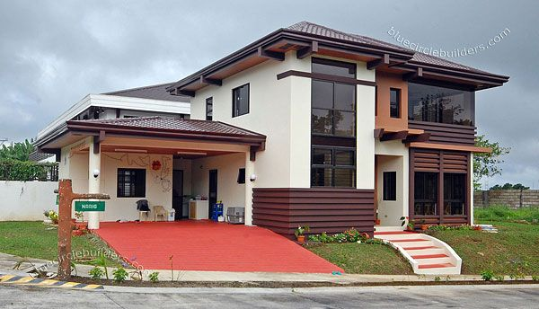 A tropical design 2 storey residential home in tagaytay for Philippines house design 2 storey