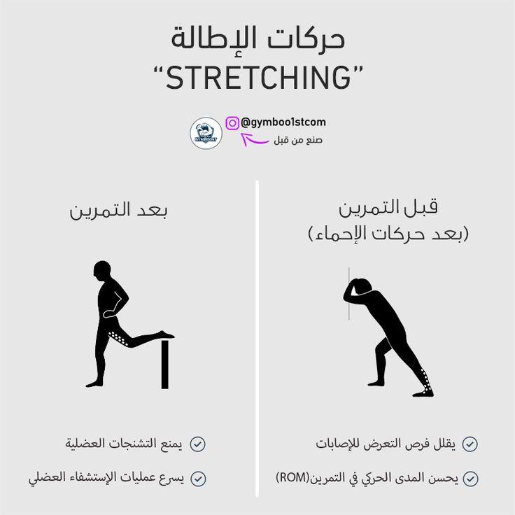 حركات الإطالة والإحماء Abs Workout Learning Bodybuilding
