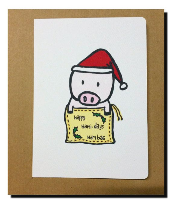 Hey, I found this really awesome Etsy listing at https://www.etsy.com/au/listing/250262263/happy-hami-days-christmas-pig