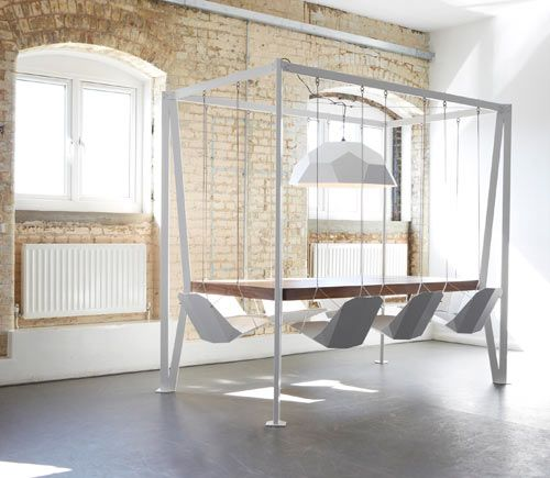 Swing Table by Christopher Duffy for Duffy London