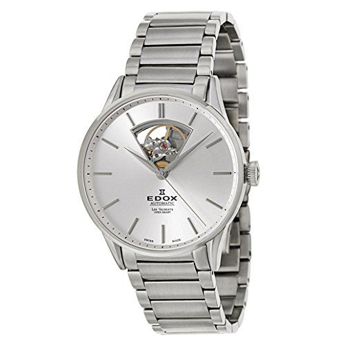 Men's Wrist Watches - Edox Les Vauberts Automatic Mens Automatic Watch 850113BAIN >>> You can find more details by visiting the image link.