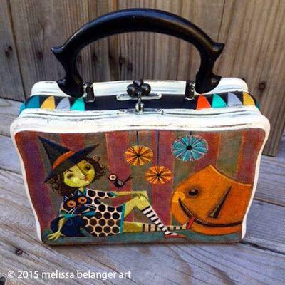 Halloween purse by Melissa Belanger