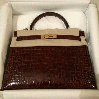 K32 Bordeaux Porosus Shiny Sellier ghw #Q (For Order Whatsupp +62857-82-056-056)