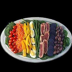 rainbow nicoise salad