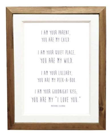 """you are my """"i love you"""" yellow bungalow shop"""