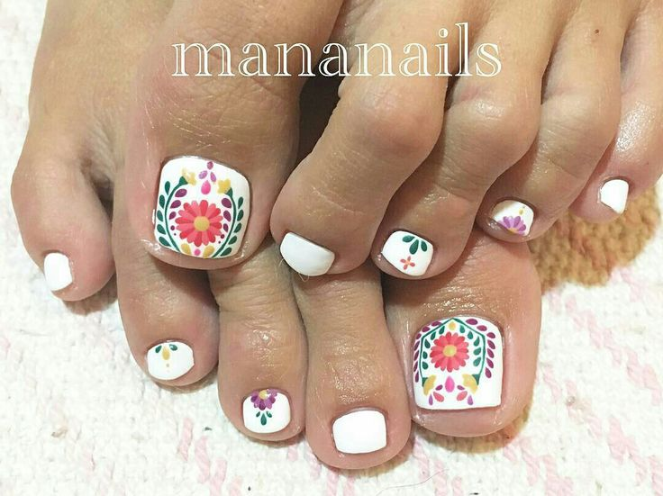 Best 25+ Mexican nails ideas on Pinterest | Floral nail ...
