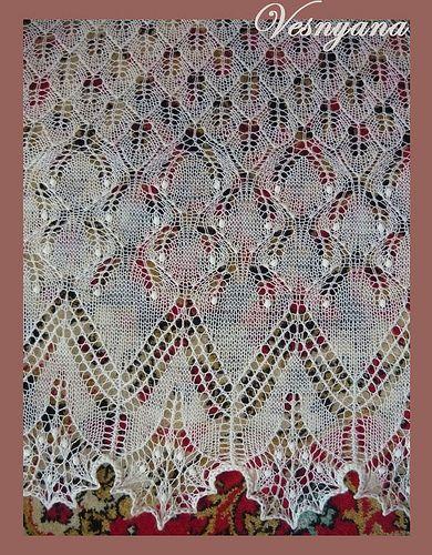 "Knitted Joy: Шаль ""Любимая"""